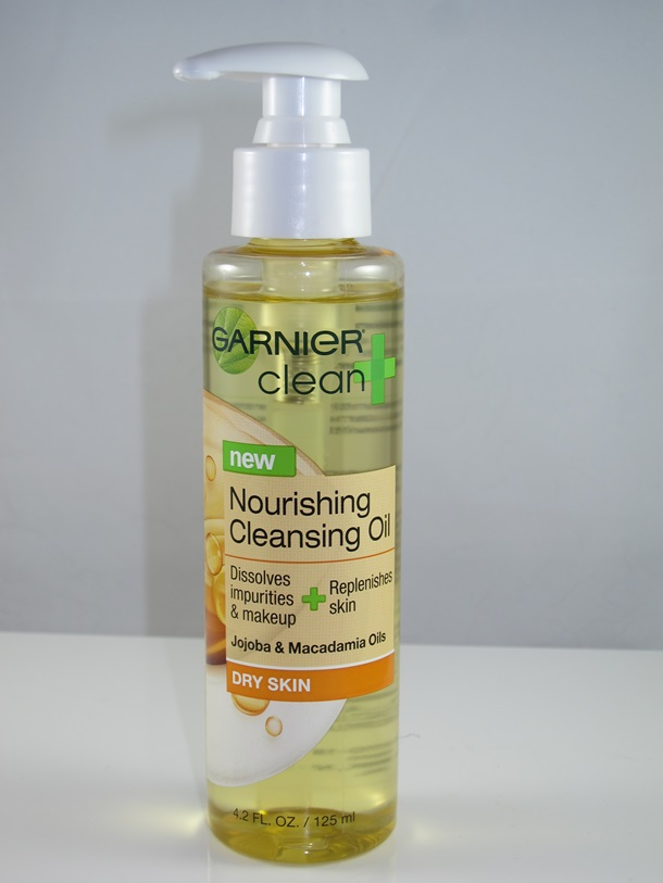 Garnier Clean Nourishing Cleaning Oil