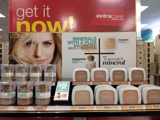L'Oreal True Match Mineral Powder Collection