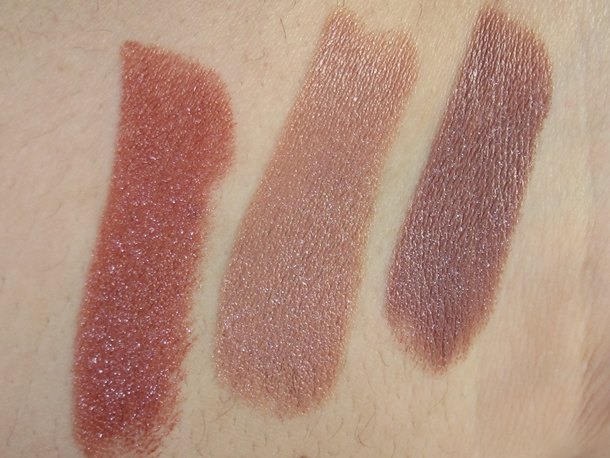 Maybelline Color Sensational The Buffs swatches