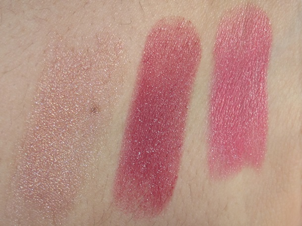 Bobbi Brown Nude Glow Sheer Lip Color swatches