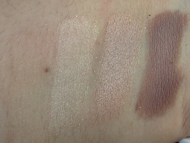 Clarins The Essentials Eyeshadow Palette swatches