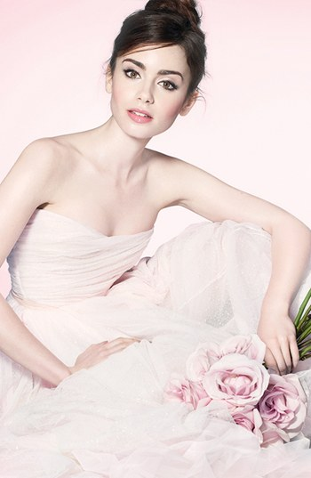 Lancome French Ballerine Collection Lily Collins