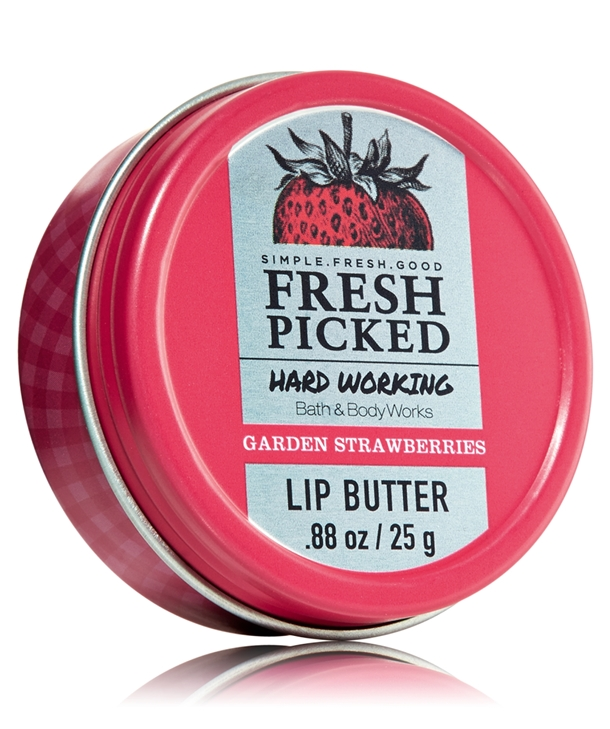 Bath & Body Works Fresh Picked Hard Working Lip Butter