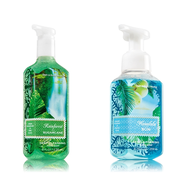 Bath Body Works New Hand Soap Spring 2014
