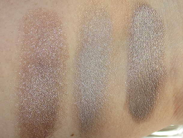 Maybelline Bad to the Bronze Nude Compliment and Sleek Spice Swatch Comparisons