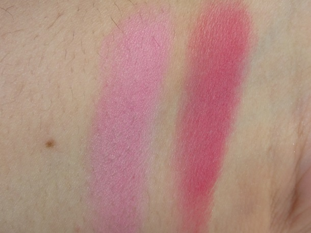 Milani Matte Baked Blush Swatches