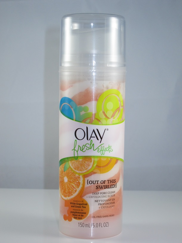 Olay Fresh Effects Deep Pore Clean Plus Exfoliating Scrub