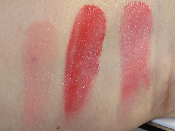 the Balm How Bout Them Apples swatches