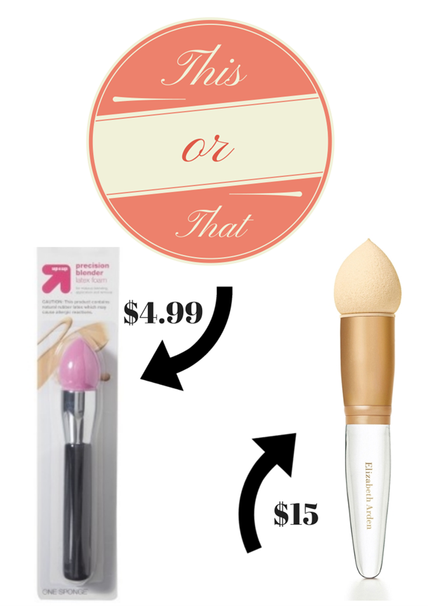 Designed with a sleek curve and rounded tip, the fun-sized blender is tiny and designed for a more precise application. Best at concealing the normally hard-not-to-splotch-with-too-much-makeup areas like the inner corners of the eye, brow bones, etc., the sponge brush doubles as .