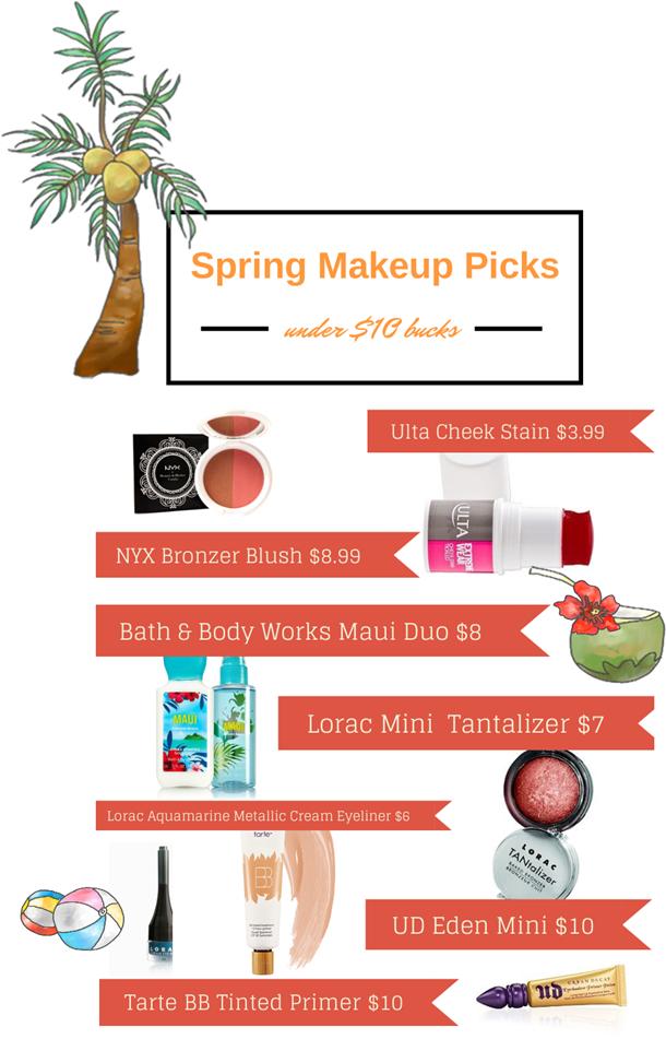 spring budget makeup