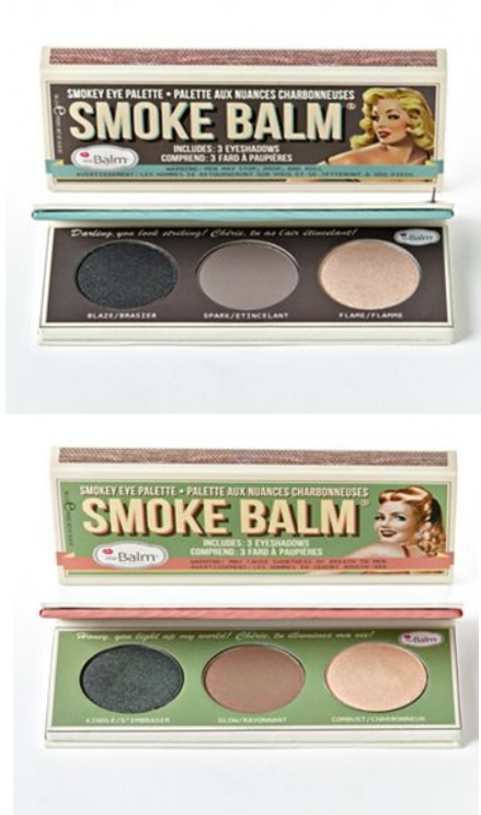 the Balm Smoke Balm Eyeshadow Palette