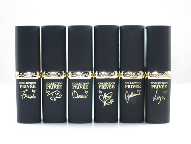 L'Oreal Collection Privee Colour Riche Lipsticks
