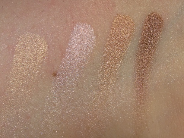 Physicians Formula Shimmer Strips All in 1 Custom Nude Palette swatches1