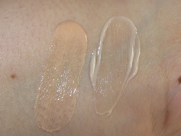 Jergens BB Body & Urban Decay BB Body Comparisons