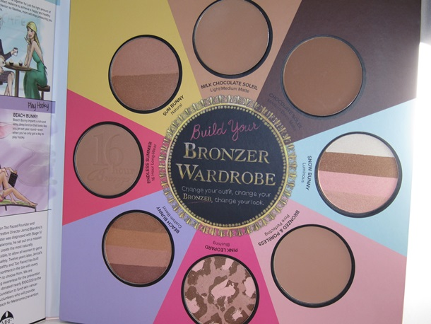 Too Faced The Little Black Book of Bronzers11