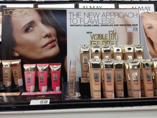 L'Oreal Visible Lift Blur Collection