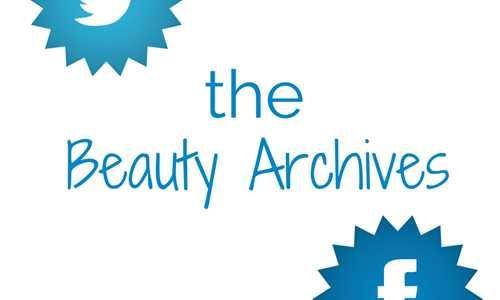 Beauty Archives Series on Facebook and Twitter