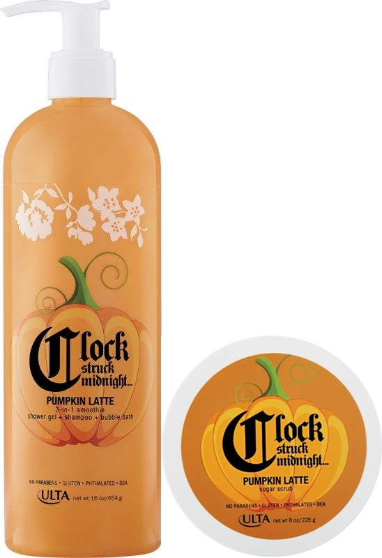 Ulta Clock Struck Midnight Pumpkin Latte