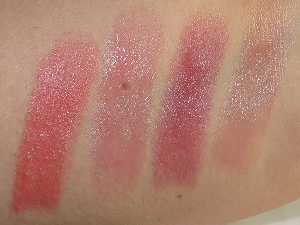 swatches L'Oreal Pop Balm