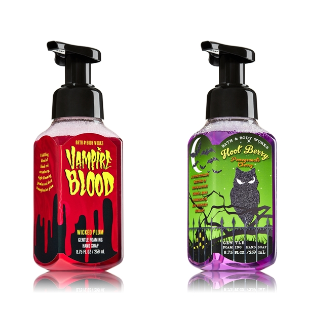 Bath & Body Works Halloween 2014 Hand Soaps