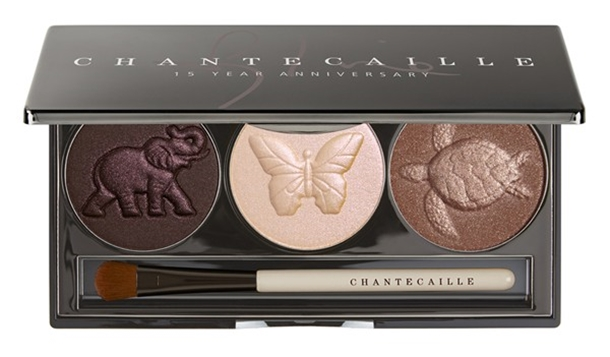 Chantecaille 15 Year Anniversary Eyeshadow Trio for Fall 2014
