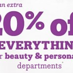20% Off All Beauty at Drugstore.com
