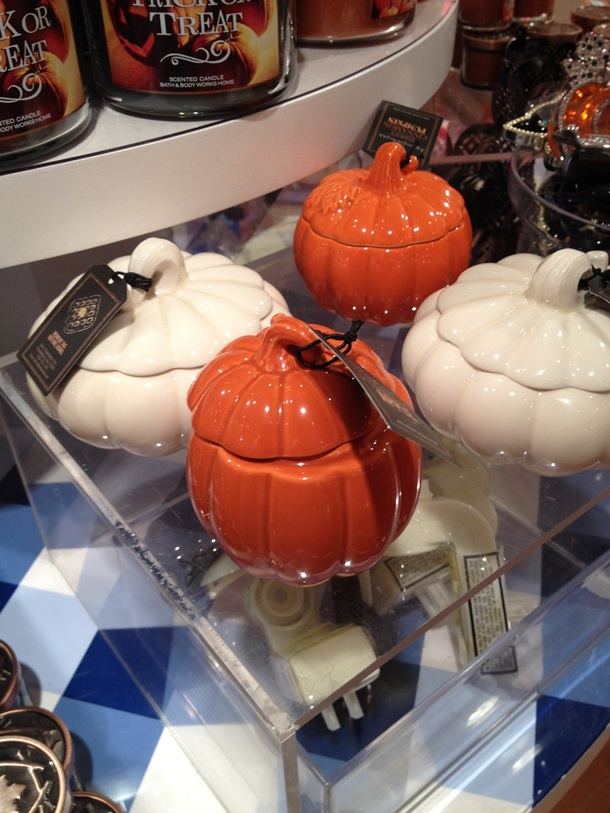 Bath & Body Works Pumpkin Candles