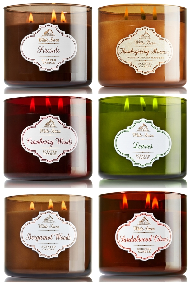bath & body works winter 2014 candles
