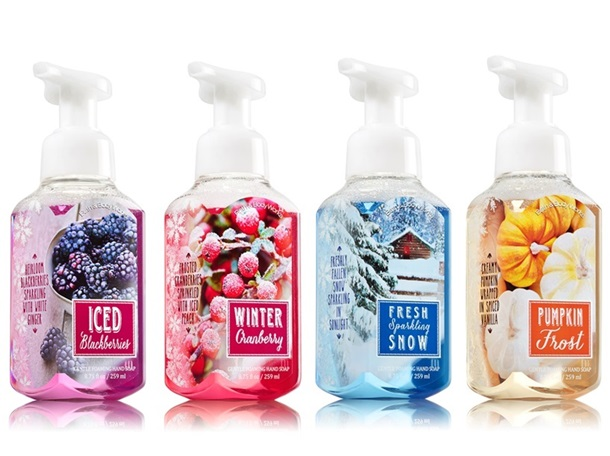 Bath & Body Works Winter 2014 Hand Soaps