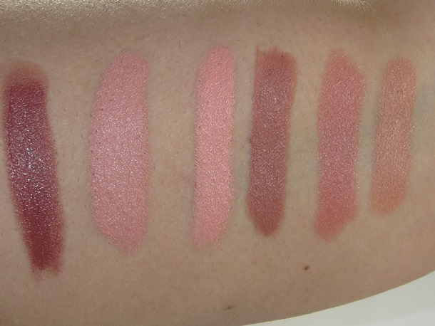 NYX Simply Nude Lip Cream Swatches