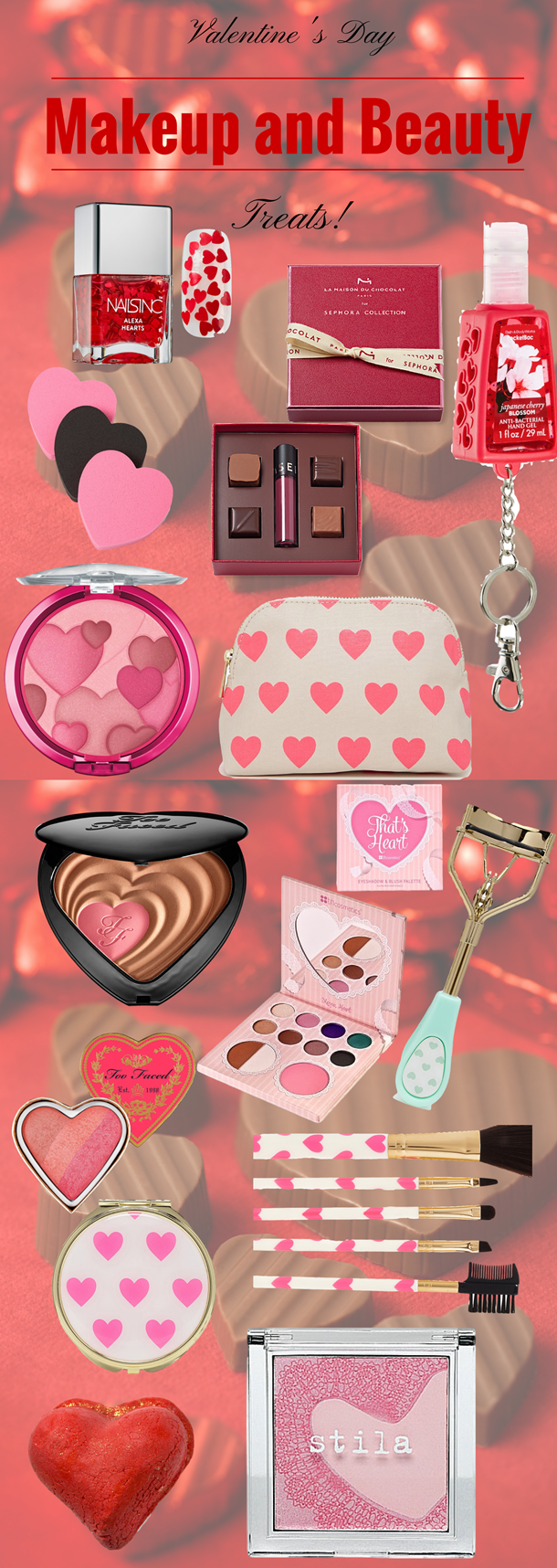 valentine's day makeup and beauty