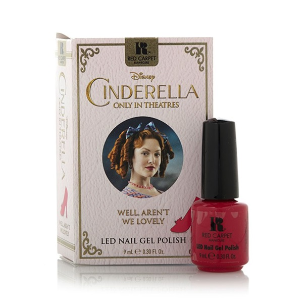 Red Carpet Manicure Cinderella LED Gel Polish Collection
