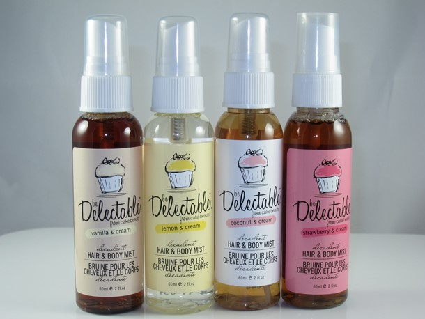 Cake Beauty Be Delectable Hair & Body Mist Set