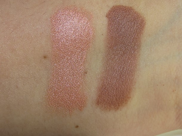 NARS St-Paul-de-Vence Eyeshadow Duo swatches