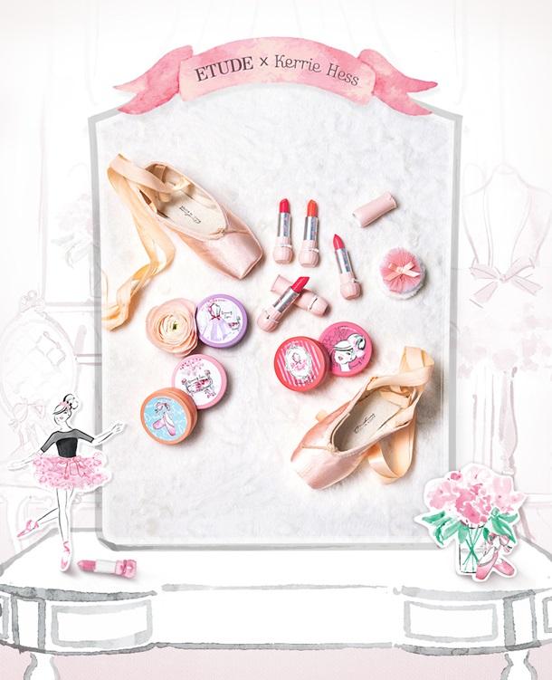 etude house dreaming swan makeup