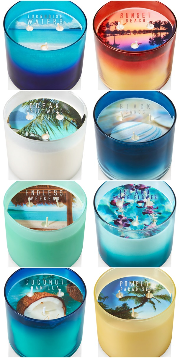 bath and body works meet me in tahiti candle
