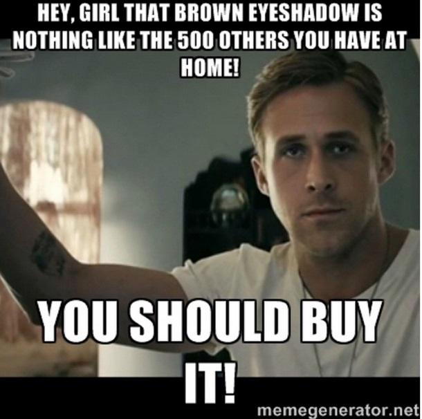 makeup dupes meme hey girl