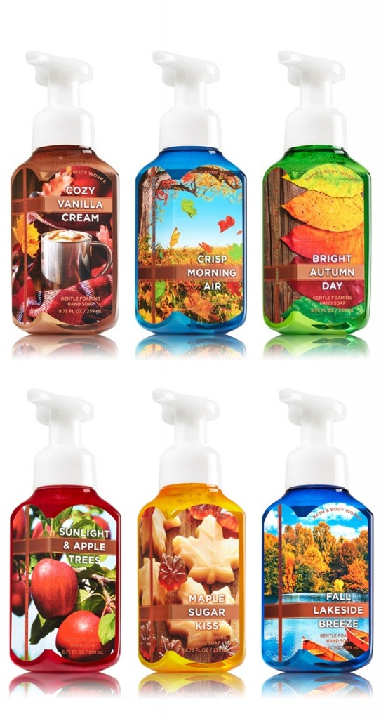 Bath & Body Works Fall 2015 Hand Soaps Available Now