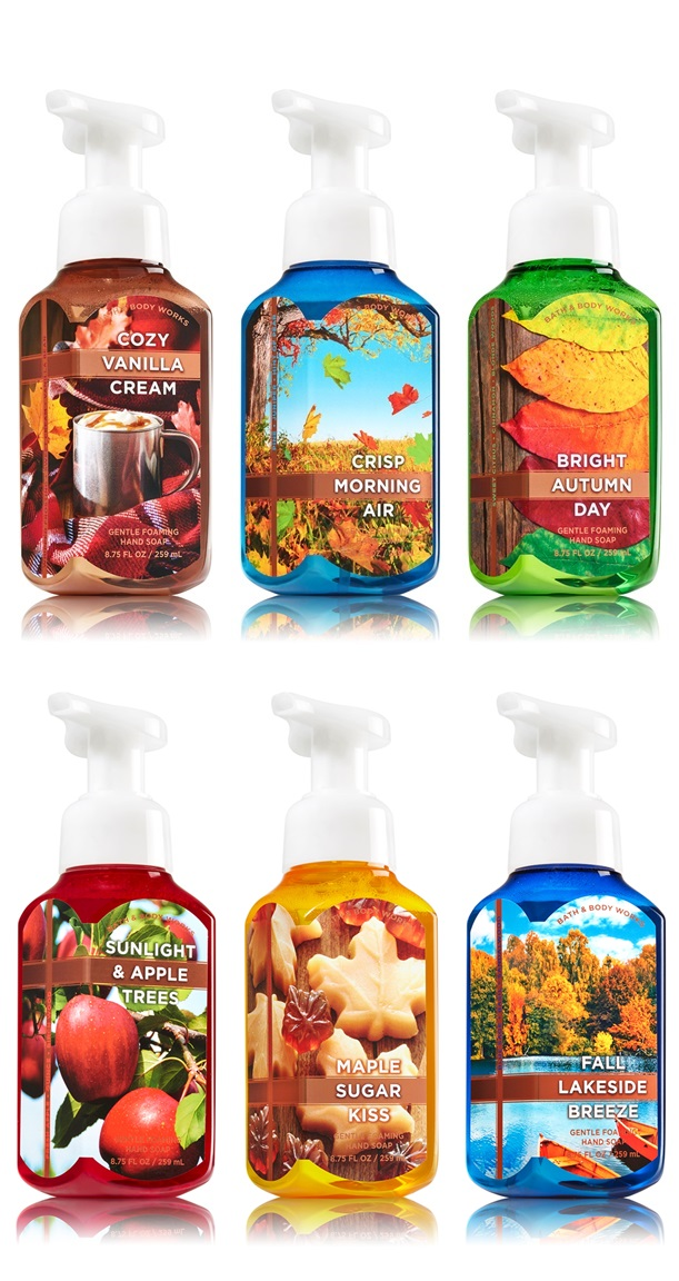 Image result for bath and body works fall soaps