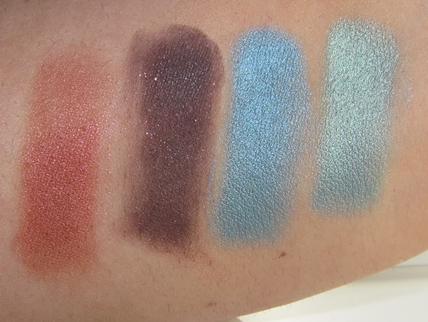 E.L.F. Snow & Ice Glow Palette swatches