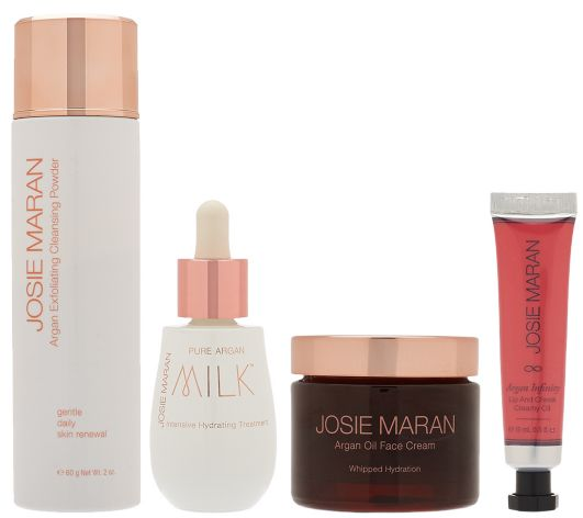 Josie Maran Argan Oil Skin Indulgence Skincare Set QVC August Today?s Special Value