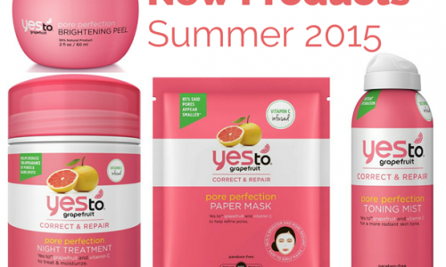 Yes To Grapefruit New Products for Summer 2015