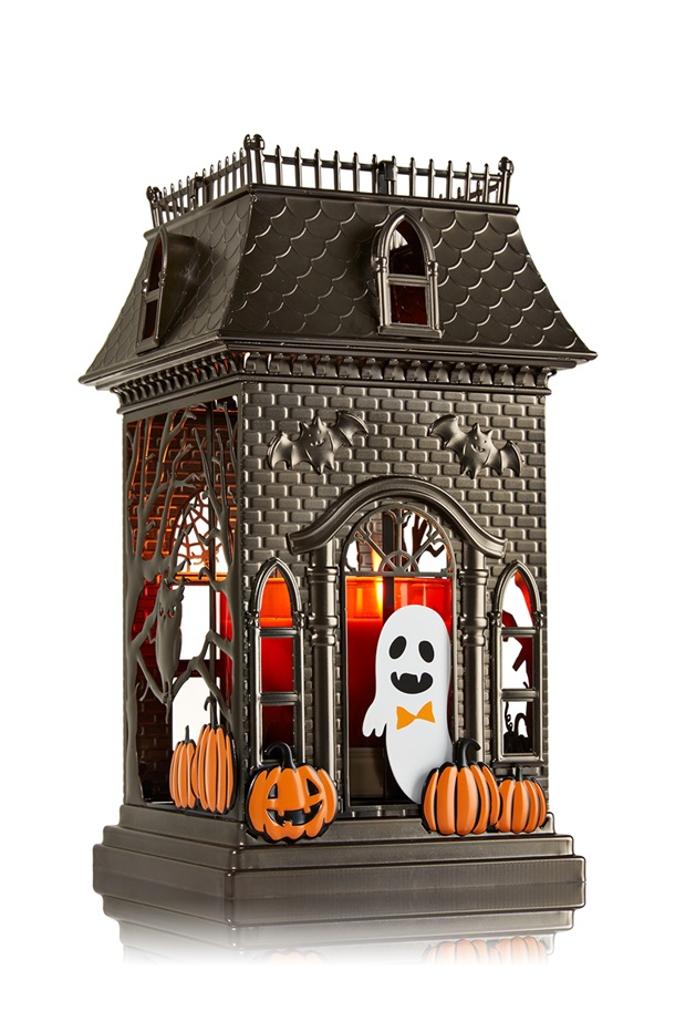 Bath & Body Works Haunted House Lantern Candle Holder
