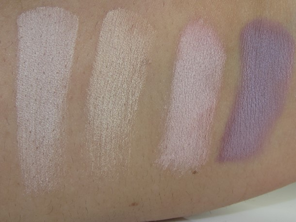 It Cosmetics The Romantics Palette swatches