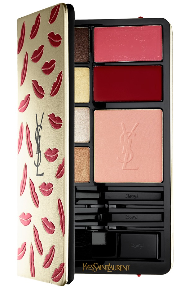 Gotta Love the Yves Saint Laurent Kiss & Love Edition Complete Make-Up Palette