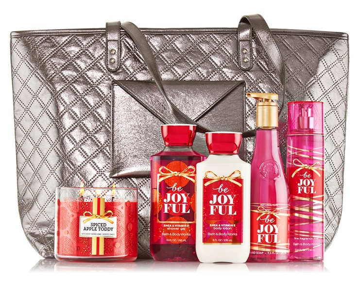 Bath & Body Works Joyful Favorites 2015 V