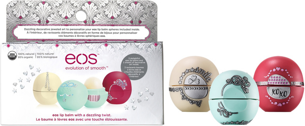 EOS Holiday 2015 Lip Balm Gift Set