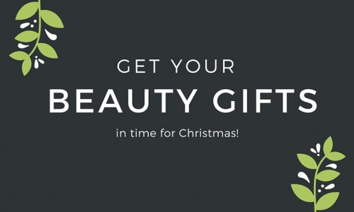 Get Your Beauty and Makeup Gifts by Christmas