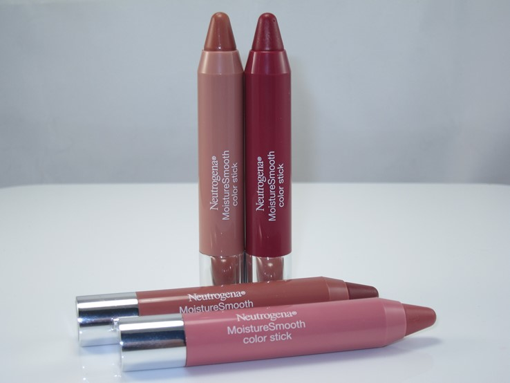 Neutrogena Spring 2016 Moisture Smooth Color Sticks
