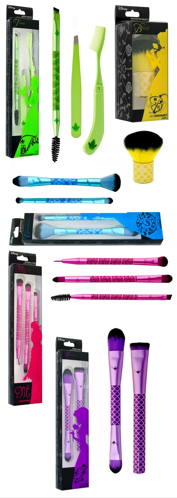 Disney x Soho Brush Sets